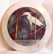 Egret I Border Plaque